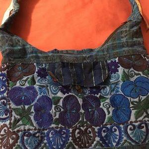 Bags - Embroidered boho bag